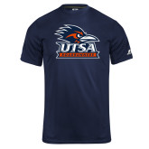 Russell Core Performance Navy Tee-Primary Logo