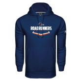 Under Armour Navy Performance Sweats Team Hood-Roadrunners Baseball Plate