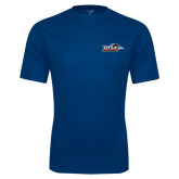 Syntrel Performance Navy Tee-UTSA Roadrunners w/ Head Flat