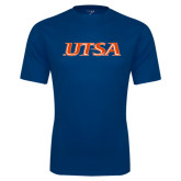 Syntrel Performance Navy Tee-UTSA