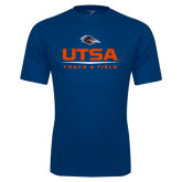 Performance Navy Tee-UTSA Track & Field