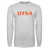 White Long Sleeve T Shirt-UTSA