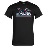 Black T Shirt-Runners Athletics