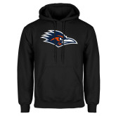 Black Fleece Hoodie-Roadrunner Head