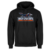 Black Fleece Hoodie-Runners Athletics