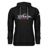 Adidas Climawarm Black Team Issue Hoodie-UTSA Roadrunners w/ Head Flat