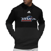 Adidas Black Team Issue Hoodie-UTSA Roadrunners w/ Head Flat