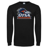 Black Long Sleeve T Shirt-Primary Logo
