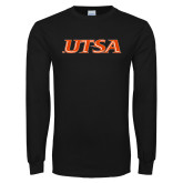 Black Long Sleeve T Shirt-UTSA