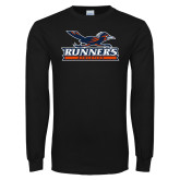 Black Long Sleeve T Shirt-Runners Athletics