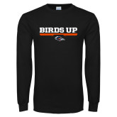 Black Long Sleeve T Shirt-Birds Up