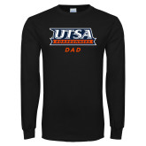 Black Long Sleeve T Shirt-Dad