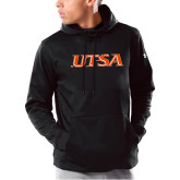 Under Armour Black Armour Fleece Hoodie-UTSA