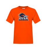 Youth Orange T Shirt-Track & Field