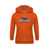 Youth Orange Fleece Hoodie-Runners Athletics