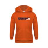 Youth Orange Fleece Hoodie-Roadrunners Two Tone Diagonal