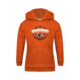 Youth Orange Fleece Hoodie-Roadrunners Basketball Arched