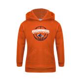 Youth Orange Fleece Hoodie-Roadrunners Basketball Arched
