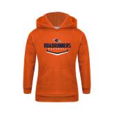 Youth Orange Fleece Hoodie-Roadrunners Baseball Plate