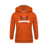Youth Orange Fleece Hoodie-Roadrunners Track & Field Wings