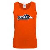 Orange Tank Top-UTSA Roadrunners w/ Head Flat