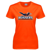 Ladies Orange T Shirt-Runners Athletics