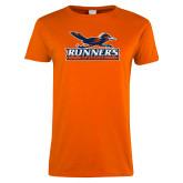 Ladies Orange T Shirt-Runners Athletics