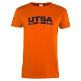 Ladies Orange T Shirt-Arched UTSA