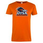 Ladies Orange T Shirt-Cross Country