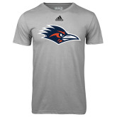 Adidas Climalite Sport Grey Ultimate Performance Tee-Roadrunner Head