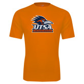 Performance Orange Tee-Primary Logo