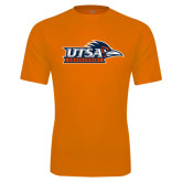 Performance Orange Tee-UTSA Roadrunners w/ Head Flat