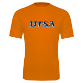 Performance Orange Tee-UTSA