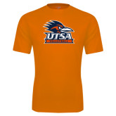 Performance Orange Tee-Volleyball