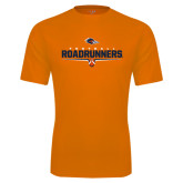 Performance Orange Tee-Roadrunners Football Underline