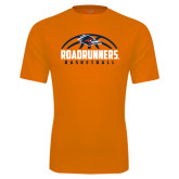 Performance Orange Tee-Roadrunners Basketball Half Ball