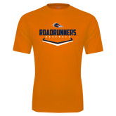 Performance Orange Tee-Roadrunners Baseball Plate