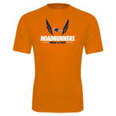 Performance Orange Tee-Roadrunners Track & Field Wings