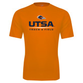 Performance Orange Tee-UTSA Track & Field