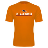 Performance Orange Tee-Volleyball Bar