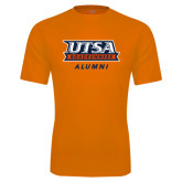 Performance Orange Tee-Alumni