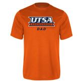 Performance Orange Tee-Dad