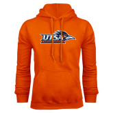Orange Fleece Hood-UTSA Roadrunners w/ Head Flat