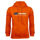 Orange Fleece Hood-Roadrunners Bar w/ Head