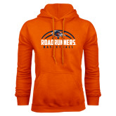Orange Fleece Hood-Roadrunners Basketball Half Ball