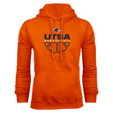 Orange Fleece Hood-UTSA Basketball Half Ball