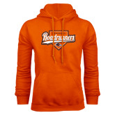 Orange Fleece Hood-Roadrunners Baseball Script w/ Plate