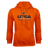 Orange Fleece Hood-UTSA Track & Field