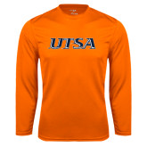 Performance Orange Longsleeve Shirt-UTSA