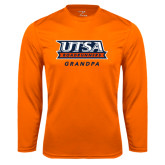 Performance Orange Longsleeve Shirt-Grandpa